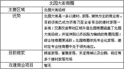 济南商圈分析