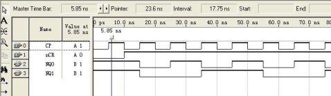 FPGA实验报告5模4递增计数器