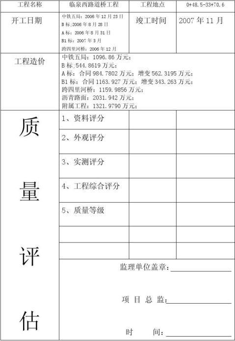 评估报告封面