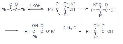 实验三二苯基乙醇酸重排