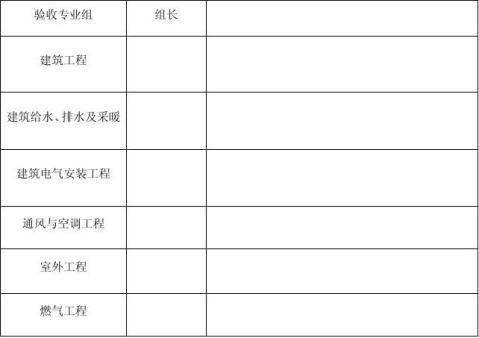 建设工程竣工验收报告填写方法