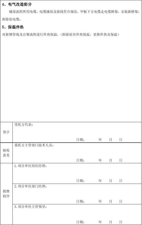 验收报告书格式