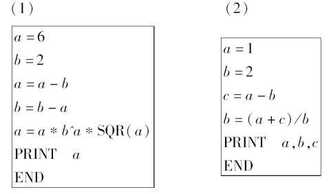 高中数学人教A版必修三第一章算法初步知识点总结及典型例题分析