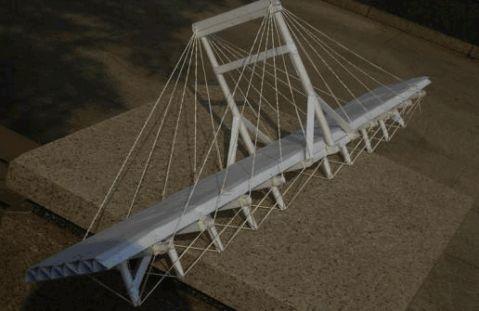 印象科大仿真桥梁模型设计及校区模型制作活动