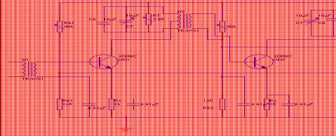高频课程设计中频放大器