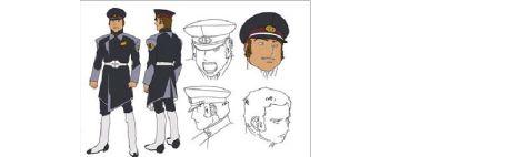 高达SEEDdestiny中扎夫特军制服与军衔等级关系