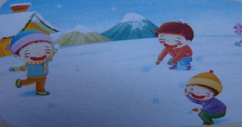 下雪啦看图写话精彩