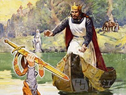 英国历史人物亚瑟王的传奇