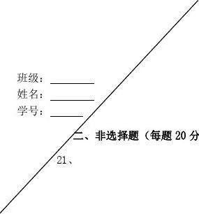 20xx20xx学年高二上学期第二次阶段测试历史选修试题