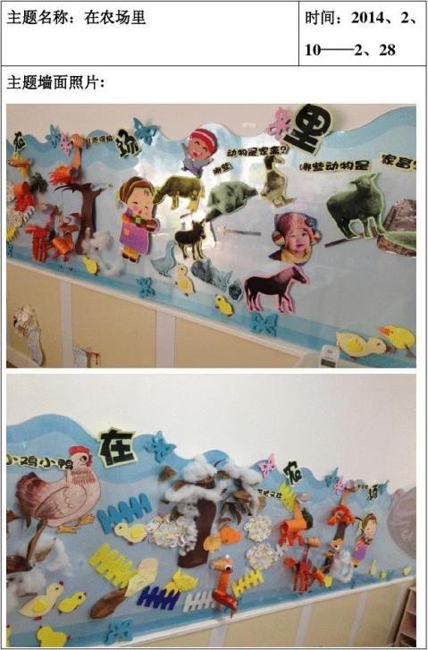 班主题活动等墙面布置图