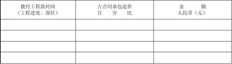 北京市建设小型工程施工合同范本